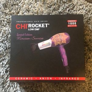 Chi Rocket Hair Dryer💜💛💁🏽‍♀️